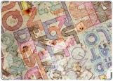 Обложка на паспорт с уголками, Буквы