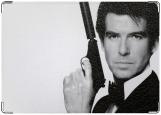 Обложка на военный билет, Джеймс Бонд 007