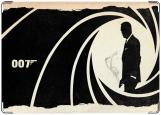 Обложка на военный билет, Агент 007