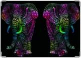 Блокнот, роспись по слону-2