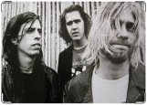 Обложка на паспорт с уголками, Nirvana