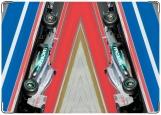 Обложка на автодокументы с уголками, F1