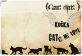 Обложка на ветеринарный паспорт, МОЯ ЛЮБОВЬ