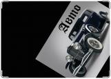 Обложка на автодокументы с уголками, старое авто