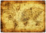 Обложка на паспорт с уголками, карта