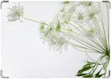 Обложка на паспорт с уголками, полевой цветок