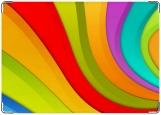 Обложка на паспорт, радуга цветная веселая