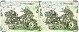 Кошелек, Картина из денег.