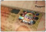 Обложка на паспорт с уголками, Visa