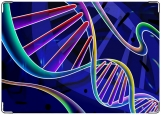 Обложка на медицинскую книжку, ДНК