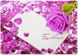 Блокнот, Яркая роза