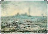 Обложка на паспорт с уголками, Ван Гог