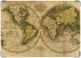 Обложка на паспорт с уголками, карты
