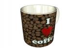 Кружка, я люблю кофе