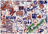Обложка на автодокументы с уголками, СтикерБомбинг