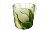 Кружка, Белые тюльпаны