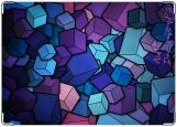 Обложка на автодокументы с уголками, кубики
