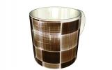 Кружка, кофейные квадраты