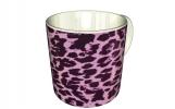 Кружка, Розовый леопард