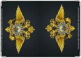 Обложка на автодокументы с уголками, Полиция РФ