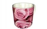 Кружка, розовый букет