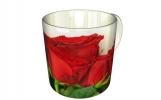 Кружка, Красные розы