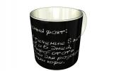 Кружка, Афоризм о кофе