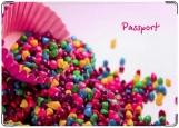 Обложка на паспорт с уголками, Сладость