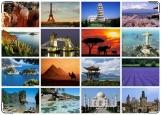 Обложка на паспорт с уголками, Путешествие