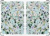 Обложка на паспорт с уголками, Flora