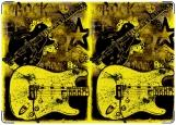 Обложка на военный билет, Рок-н-ролл и гитара