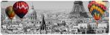 Визитница/Картхолдер, Воздушные шары, Париж!