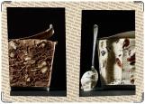 Обложка на паспорт с уголками, Вкусная обложка. Мороженое