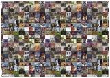 Обложка на паспорт с уголками, Instagram