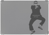 Обложка на паспорт с уголками, Gangnam Style