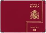 Обложка на паспорт с уголками, Espana Pasaporte