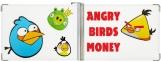 Зажим для денег, сердитые птицы