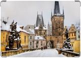 Обложка на паспорт с уголками, Прага