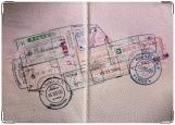Обложка на паспорт с уголками, Печати