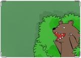 Блокнот, медведь