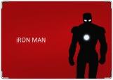 Обложка на паспорт с уголками, Iron man