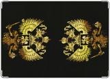 Обложка на паспорт с уголками, Герб