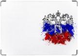 Обложка на паспорт с уголками, Герб России