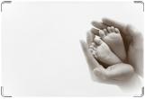 Обложка для свидетельства о рождении, пятки
