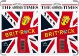 Обложка на паспорт с уголками, The London times