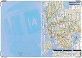 Обложка на паспорт с уголками, New York City Subway