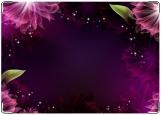 Блокнот, Абстрактные цветы.
