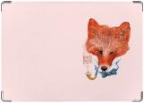Обложка на паспорт с уголками, redfox