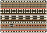 Обложка на паспорт с уголками, Ацтекский узор 2