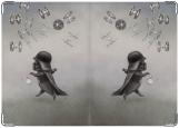 Обложка на паспорт с уголками, Дарт Вейдер в тумане